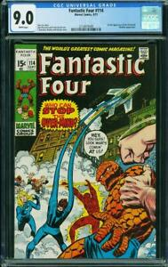 FANTASTIC FOUR  #114  Awesome Book!  CGC 9.0   Nice!