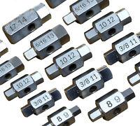 21pc Sump Plug Oil Drain Spanner Socket Set Gearbox Rear Axle Brakes