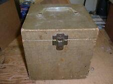 VINTAGE RECORD BOX STORAGE CASE 45 RPM