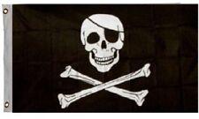 Jolly Roger Pirate Flag Ship Banner Skull Crossbones Pennant New 2x3 Foot
