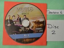 Blu Ray REPLACEMENT Weeds DISC # 2 Season Six 6 ONLY the DISC not the FULL SET