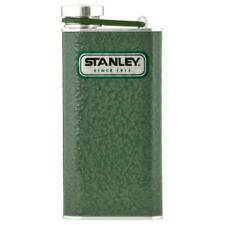 Stanley Classic Flask - Hammertone Green - 8 oz. - Wide Mouth - Stainless Steel