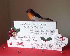 CHRISTMAS IN HEAVEN BLOCKS... CHRISTMAS MEMORIAL DECORATION ❤️