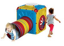 Spielhaus Cube Würfel für Kleinkinder mit Krabbeltunnel erweiterbar NEU 227819