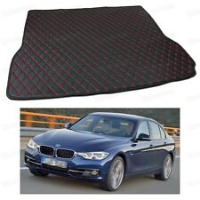 PU Leather Car Trunk Mat Cargo Pad Carpet Fit for BMW 3-Series 2012-2017 F30