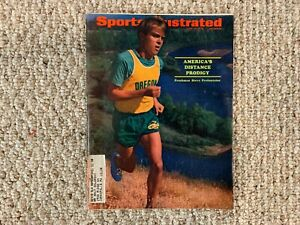 1970 Sports Illustrated Steve Prefontaine Oregon Ducks First Cover June 15, 1970