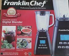 FRANKLIN CHEF 10 Speed Contemporary Digital Blender 700 watt  BlackOnyx FC-B210B