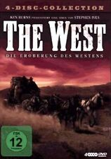 THE WEST by Ken Burns Complete Series DVD Box Set Brand New R2