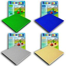[Improved Design] 4 Baseplates, 10 x 10 Large Thick Base Plates for Building...