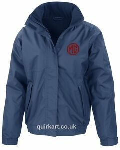 MG Embroidered Logo Bomber Jacket Classic Car Personalised Free P&P