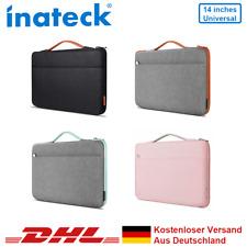 Inateck 14 Zoll Stoßfestes Wasserdicht Notebooktasche Laptoptasche Handtasche