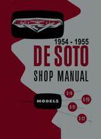 1954 1955 Desoto Shop Service Repair Manual Book Engine Drivetrain Electrical OE