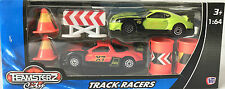 DIE CASTE TRACK RACERS CAR TOY SET 2X CARS SCALE 1:64 SUITABLE FOR KIDS OVER 3