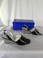 Vintage Women's Size 7M JM Studio Heels black and white