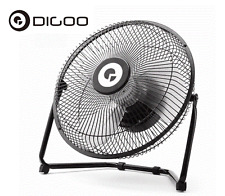 Digoo Fan 10'' USB Portable Rechargeable Metal Electrical Rotatable Cooling Vent