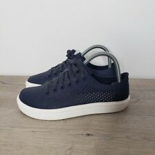Crocs Citilane Roka Court Perforated Sneaker Shoe 204884 Womens Size 7 Navy Blue