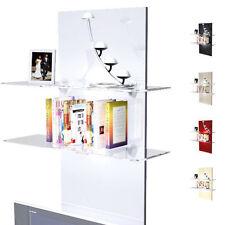 Moderne Regale aus Glas in aktuellem Design