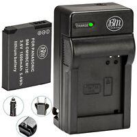 BM DMW-BCM13E Battery & Charger for Panasonic Lumix DMC-ZS40 DMC-ZS45 DMC-ZS50