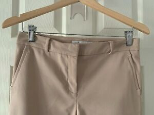 Forever New Grace 7/8th Slim Pants Beige Rose- Size 8 in excellent condition