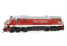 Rivarossi Burlington CB&Q GE U28C #563 DCC ESU LokSound HO Locomotive HR2616