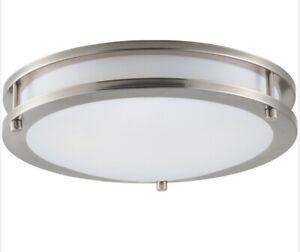 "Maxim 55542 Linear 12""W LED Ceiling Light - Nickel"