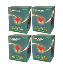 More details for magic: the gathering double masters vip edition sealed case (4 booster boxes)