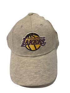 PRIMARK NBA LOS ANGELES LAKERS Adults Cap Hat GRAY