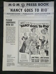 Nancy Goes To Rio - Jane Powell  Ann Sothern  Louis Calhern  Carmen Miranda