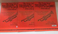 David Gornston Primer First Trumpet Cornet Technique Rudiments 1948 Music Book