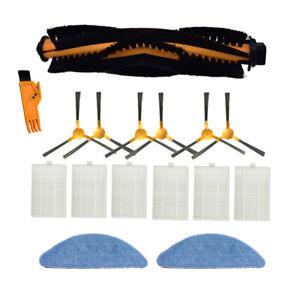 HEPA Filter Brush Roller Mop Pads for Proscenic 800T 820S Robot Vacuum Cleaner