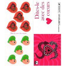 Bande Carnet BC3298A / BC27 - Dites-le avec des cœurs, Yves Saint Laurent - 2000