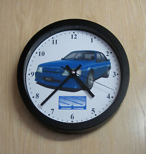 Holden Commodore VK SS Group A Sedan (blue) Wall Clock