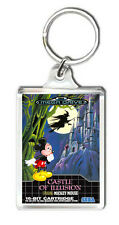 CASTLE OF ILLUSION MEGA DRIVE KEYRING LLAVERO