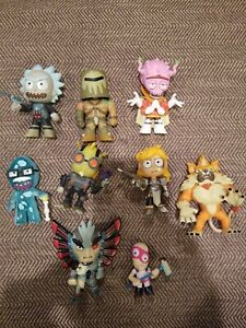 2018 Funko Rick and Morty Series 2 Mystery Minis LOT OF 9 FREE SHIPPING