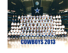 2013 DALLAS COWBOYS  8X10 TEAM PHOTO  FOOTBALL TEXAS NFL AFL USA