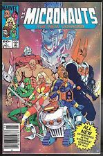 Micronauts: New Voyages 1 9.6 NM+ Marvel 1984 FREE SHIP
