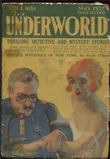 Underworld 1927 May #1.  Pulp.