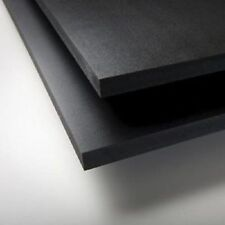 "BLACK SINTRA PVC FOAM BOARD PLASTIC SHEETS 2MM 12"" X 12"""