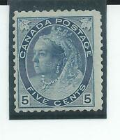 Canada - Queen Victoria 1898 - Five cents definitive - Mounted mint