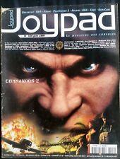 JOYPAD N°109 du 6/2001; Commandos 2/ Arcade/ GBA/ X box/ N64/ Dreamcast/ Gamecub
