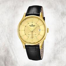 Relojes de pulsera unisex Date de cuero