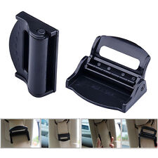 Car Auto Seat Stopper Belt buckle Strap Adjuster Clips Clamps Safe Comfort 2PCS