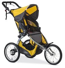 Bob 2016 Ironman Single Jogger Stroller in Yellow Brand New!!