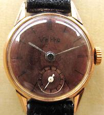 SUPER Donna 18 KT GOLD 1940 S VETTA ITALIANO/Swiss Watch GARANZIA manutenzione +6mth