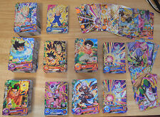 Dragon Ball Heroes DBH 100 cartes (Commune, Rare) + Mini 1 SR / NO DOUBLE