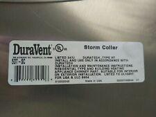 "2-New Duravent 5Dt-Sc Duratech 5-6"" Storm Collar"