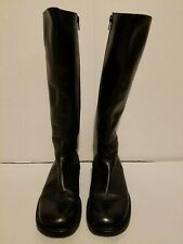 Shawnee Smith Black Zipper Boots. Personal Wardrobe. Vic Matie. COA. SAW Movies