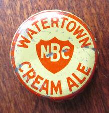 WATERTOWN CREAM ALE Beer Cork Bottle Cap Crown, Northern Brewing NY