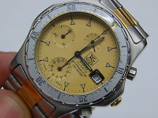 1st.Vintage Men's TAG Heuer 2000 Professional 200M Watch 274.006-1 Chronograph