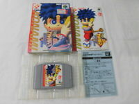 Y2758 Nintendo 64 Ganbare Goemon Neo Momoyama Bakufu Japan N64  w/box